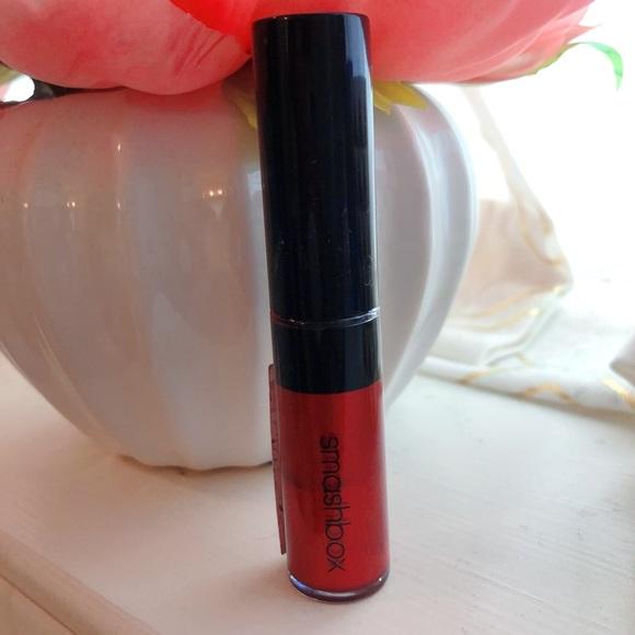 NEW Smashbox mini metallic red lip gloss